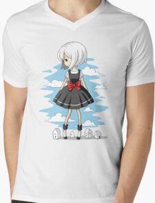 Little Giant Mens V-Neck T-Shirt