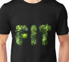 Vegetables Spelling Fit Unisex T-Shirt