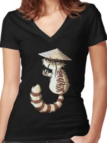 Soon Women's Fitted V-Neck T-Shirt