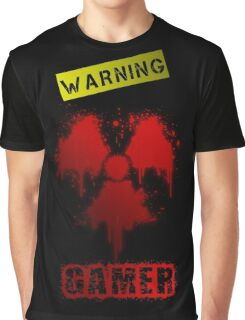 WARNING GAMER  Graphic T-Shirt