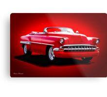 1954 Chevrolet Custom Bel Air Convertible Metal Print