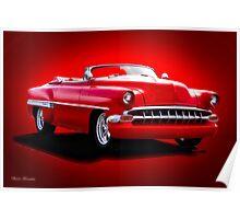 1954 Chevrolet Custom Bel Air Convertible Poster