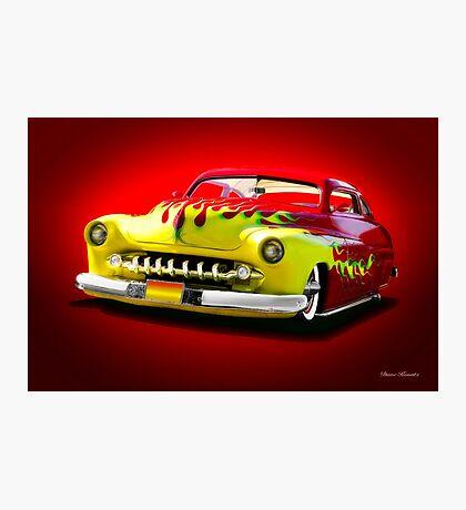 1950 Mercury Custom Coupe Photographic Print
