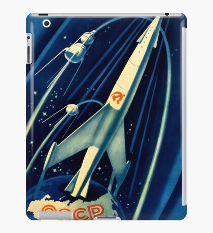 Soviet Propaganda Poster - Space iPad Case/Skin