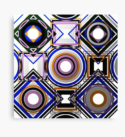 Wacky Metallic Canvas Print
