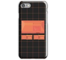 Master System neon single (black) iPhone Case/Skin