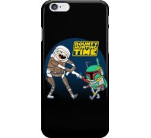 Bounty Hunting Time iPhone Case/Skin