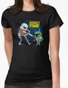 Bounty Hunting Time Womens Fitted T-Shirt