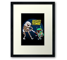 Bounty Hunting Time Framed Print