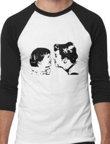Carrie Fisher & Debbie Reynolds Men's Baseball ¾ T-Shirt