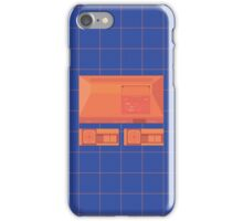 Master System neon single (blue) iPhone Case/Skin