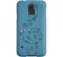 Playing the Blues Samsung Galaxy Case/Skin