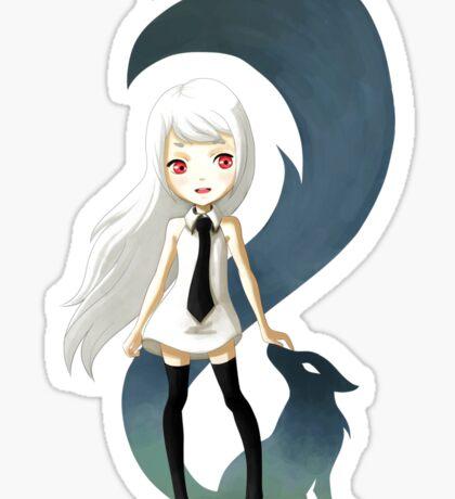Fox Daemon Sticker