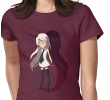 Shadow Womens Fitted T-Shirt