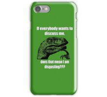 Philosoraptor Eminem iPhone Case/Skin