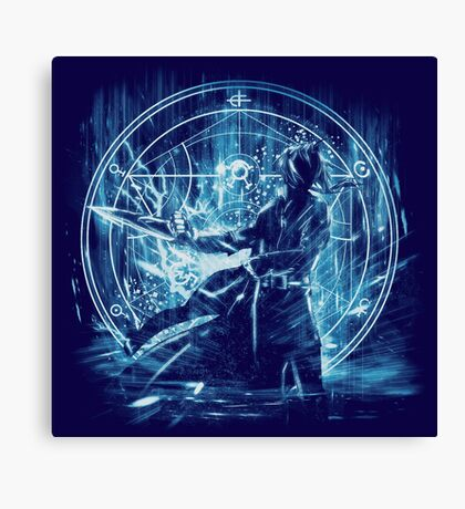 philosophal storm - edward Canvas Print