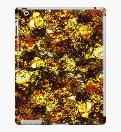 Golden Texture iPad Case/Skin