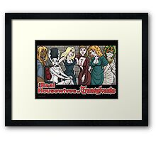 Real Housewives of Transylvania Framed Print