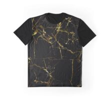 Golden Marble Graphic T-Shirt