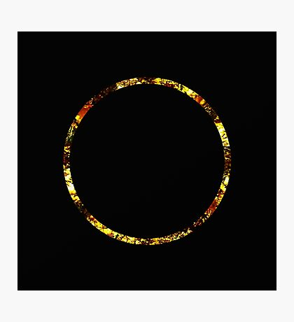 Golden Ring Photographic Print