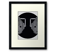 Cyber pair Framed Print