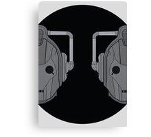 Cyber pair Canvas Print