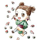 Sushi Girl by freeminds