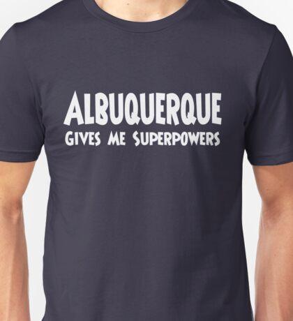 Albuquerque Superpowers T-shirt Unisex T-Shirt