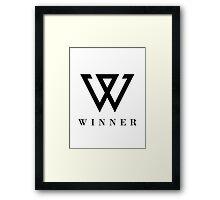 Winner 1 Framed Print