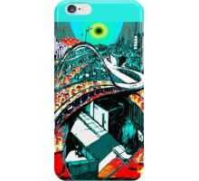 RUSH HOUR - Commuters - Modern Times series iPhone Case/Skin
