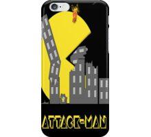 Attack Man iPhone Case/Skin