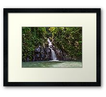 waterfall #2 Framed Print