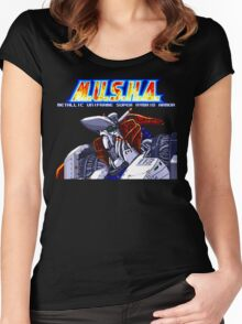 M.U.S.H.A. (Genesis Title Screen) Women's Fitted Scoop T-Shirt