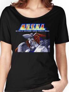 M.U.S.H.A. (Genesis Title Screen) Women's Relaxed Fit T-Shirt