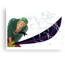 Zoro sword one piece Canvas Print