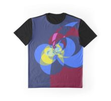 Tied in a Bow in Blue Graphic T-Shirt