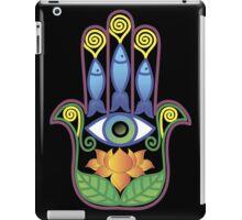 Hamsa with lotos iPad Case/Skin