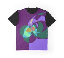 Tied in a Bow in Purple Graphic T-Shirt