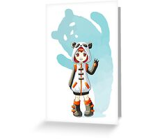 Cosplay Greeting Card