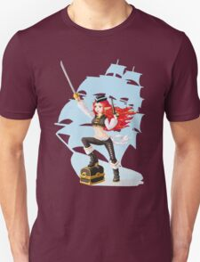 Pirate Girl Unisex T-Shirt