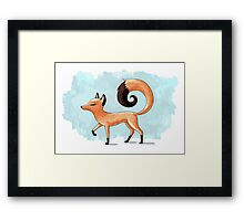 Proud Fox Framed Print