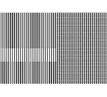 Stripe Blocks Photographic Print