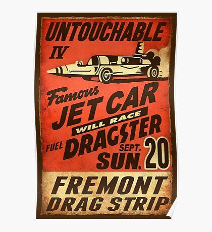 Jet Car Poster
