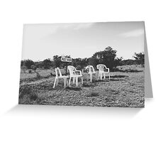 Rest Area Greeting Card