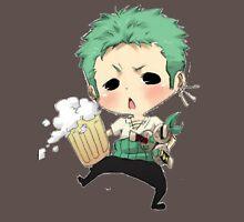 Small chibi Zoro drunk one piece Unisex T-Shirt