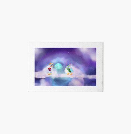 Rayman 1 Screenshot Redraw Art Board