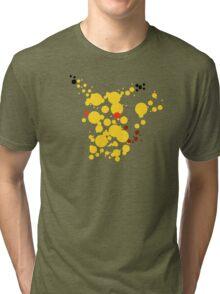 Pikachu Spots Tri-blend T-Shirt