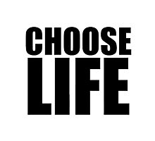 Choose Life - George Michael - Wham Photographic Print