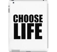 Choose Life - George Michael - Wham iPad Case/Skin