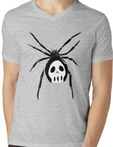 Black widow Mens V-Neck T-Shirt